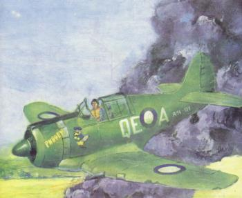 Истребитель Commonwealth CA-13 'Boomerang', Австралия, 1942